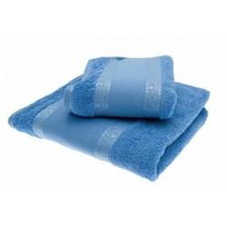 Coppia di asciugamani di spugna STAFIL art. Francesca, vasta gamma di colori