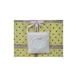 Stitchable birth pink Ribbon