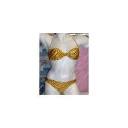 Bikini Lovable giallo a pois