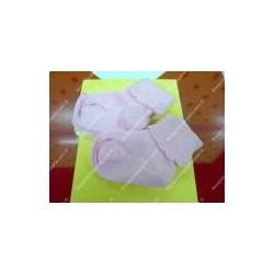 Calzine primi giorni bi-pack color cielo, rosa, bianco, giallo,