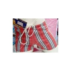 Boxer aderente Andremare con righe colorate