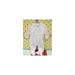 Tutina di cotone per neonato ELLEPI colore rosa