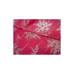 Tessuto natalizio rosso h 180 cm
