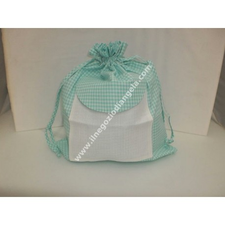 Bags with insert of aida