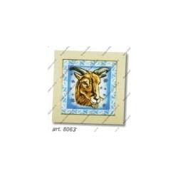 "Kit da ricamare "" Capricorno "" Art. 8063"