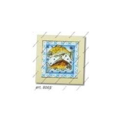 "Cross-sticht kits "" Fishes "" Art. 8065"