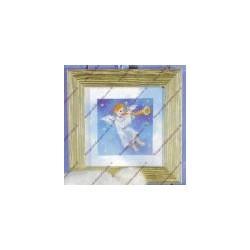 "Kit da ricamare "" Angelo musicale "" Art. 8018"