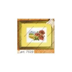 "Cross-stitch kits "" Poppy "" Orchidea Art. 7525"