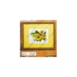 "Cross-stitch kits "" Three sunflower "" Orchidea Art. 7527"