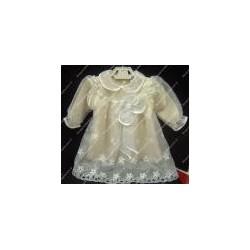 Baby cristeningh garment for girl