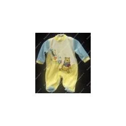 Baby jumpsuit chenille light blue colour WINNIE THE POOH DISNEY