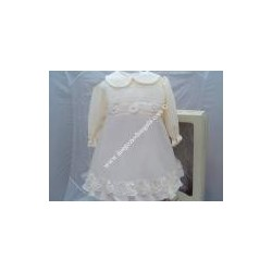 Baby cristeningh garment for girl