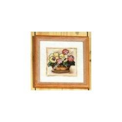 """Cross-stitch kits """" Little Violette """" Orchidea Art. 8157"""