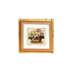 "Kit da ricamare "" Violette "" Orchidea Art. 8157"