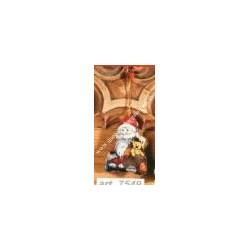 Counted cross-sticht hand puppets Santa Claus var. 7549
