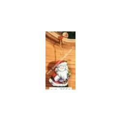 Counted cross-sticht hand puppets Santa Claus var. 7551