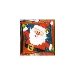 Santa Claus Front Cushion embroidery VERVACO art. 927