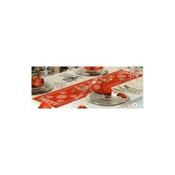 Printed table runner VERVACO