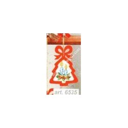 Complete cross sticht kit with plywood frame included art. 6535