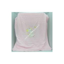 """Cover """"Teddy Bear"""" warm and soft woolen-type pink color."""