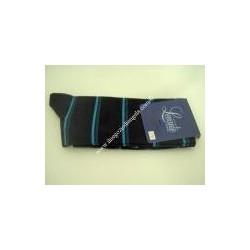 Calza lunga NICK, cotone col. blu fantasia n 43/46