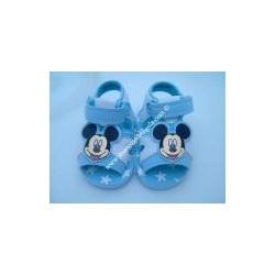 "Sandali da neonato ""TOPOLINO"", col. celeste n17"