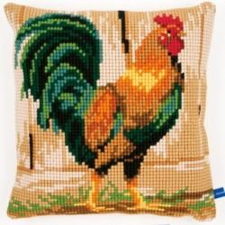 """Cuscino """" Il gallo """" PN-0148108 VERVACO"""