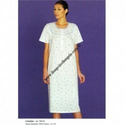 Nightgown LINCLALOR half sleeve art . 76215 tg . 44