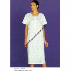 Nightgown LINCLALOR half sleeve art . 76215 tg . 60