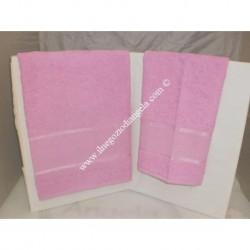 Stella 2 sponge Towels fuxia color