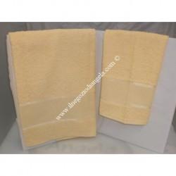 Stella 2 sponge Towels yellow color