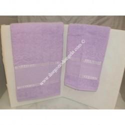 Stella 2 sponge Towels light lilla color