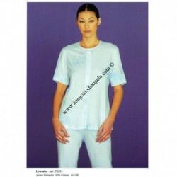 Pigiama donna LINCLALOR mezza manica 100% cotone art. 76281 tg. 58