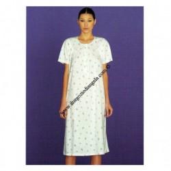 Camicia da Notte LINCLALOR mezza manica art. 76249 tg. 58