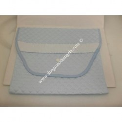 Layette bag first change brings with Aida light blue color