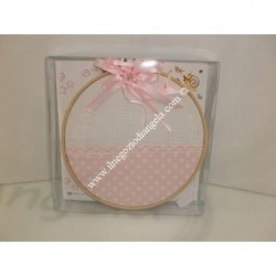Pink for cradle circle pillow