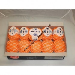 Orange perl IRAN yarn n8