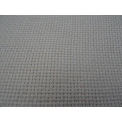 Tela aida lana col. panna 75x80 cm x copertina