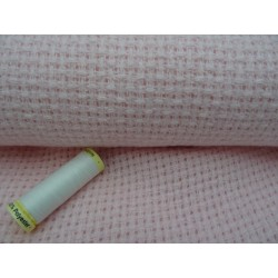 Tela aida lana col. rosa 75x80 cm x copertina