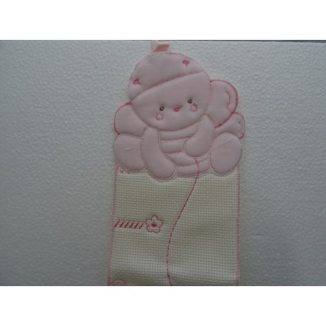 Meter for baby, pink colors