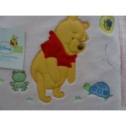 Copertina, lenzuolino e bavaglino, set completo Winnie The Pooh