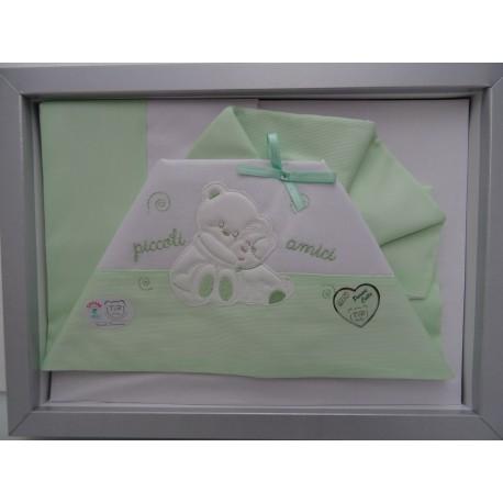 Light blue colour Sheet for cradle art. 03