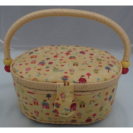 Little aberdashery orange basket