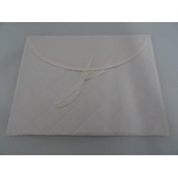 Busta Corredino trapuntata, con tela aida col. avorio