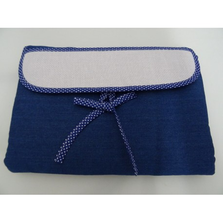 Pink Stichtable portable changing pad