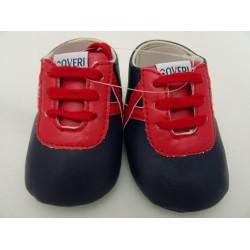 Scarpe da neonato ENRICO COVERI, col. blu e rosso