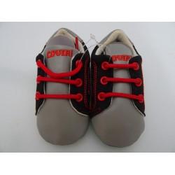 Scarpe da neonato ENRICO COVERI, col. nero e grigio