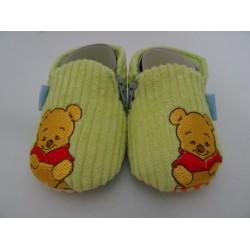 Pantofole Winnie The Pooh, verdine a coste