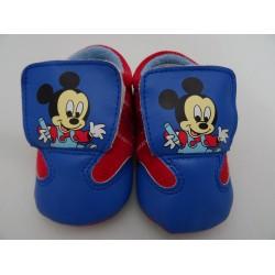 Scarpe da neonato di Topolino, col. rosso e blu