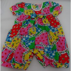 Cotton Baby romper fantasy color
